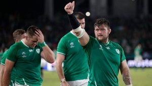 Ireland beat Samoa to reach Rugby World Cup quarters