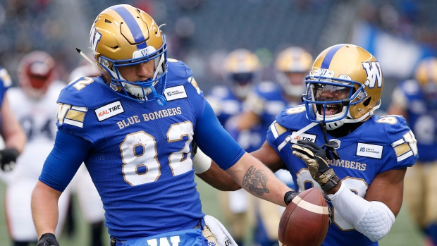 Nick Taylor's pick-six a highlight of Winnipeg Blue Bombers' win over Montreal Alouettes - TSN.ca