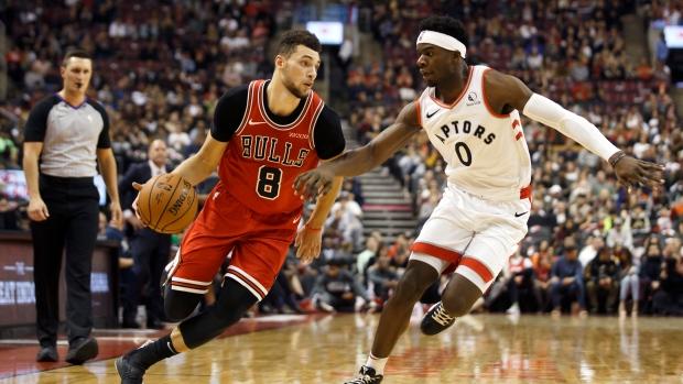 Zach LaVine leads Chicago Bulls past Toronto Raptors in pre-season game at Scotiabank Arena - TSN.ca
