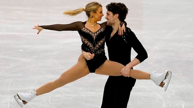 Kirsten Moore-Towers and Michael Marinaro