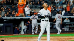 Yankees slumping at plate, fall behind 2-1 to Astros in ALCS Article Image 0