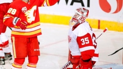 Mark Giordano's hot start continues as he leads Flames past Red Wings 5-1 Article Image 0