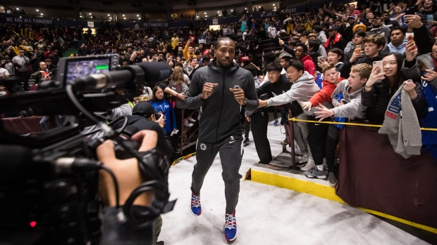 Former Toronto Raptor Kawhi Leonard still feeling love from Canadian basketball fans - TSN.ca