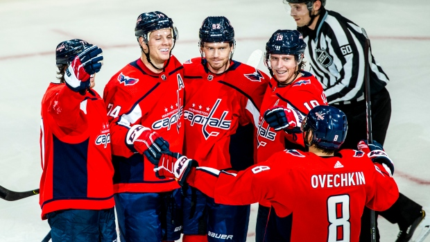 Washington Capitals Celebrate