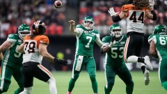 QB Cody Fajardo helps Saskatchewan Roughriders top B.C. Lions 27-19 Article Image 0