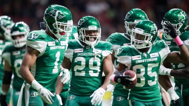 Saskatchewan Roughriders Celebrate