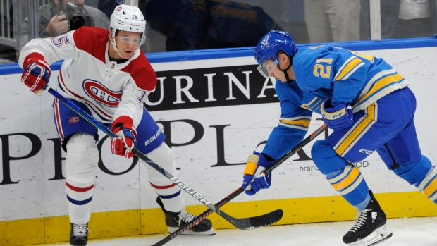 Montreal Canadiens use big 2nd period to beat slumping St. Louis Blues - TSN.ca