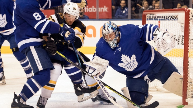 After uneven start to season, Toronto Maple Leafs G Frederik Andersen at his best against Bruins - TSN.ca