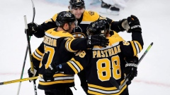 Pastrnak scores 10th, Bruins beat Maple Leafs 4-2 Article Image 0