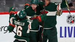 Staal scores 2, Dubnyk hurt in Wild's 3-0 win over Oilers Article Image 0