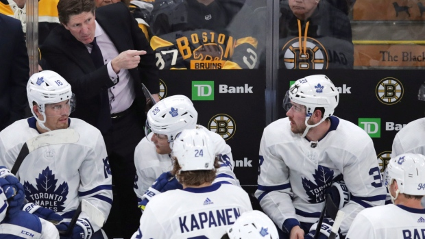 Amid 5-game skid, Leafs coach Babcock 'will continue to bet on' himself - TSN.ca