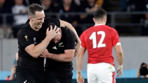 All Blacks top Wales for bronze at Rugby WC