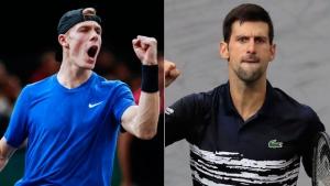 Shapovalov on Djokovic: 'I do believe that I have the game to beat him'