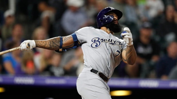 Former Brewers 1st baseman Eric Thames reaches deal with Washington Nationals