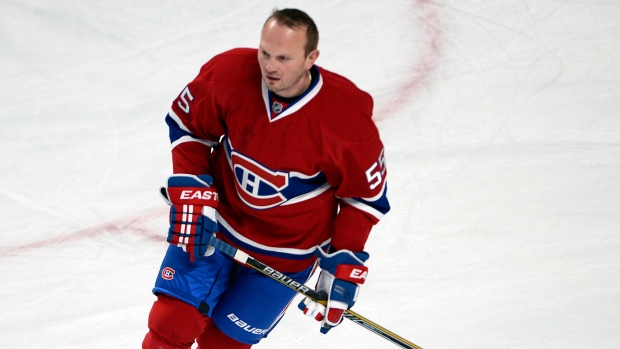 Canadiens Sergei Gonchar The Canadian Press