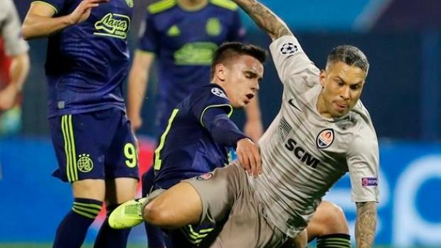 Shakhtar Donetsk Draws At Dinamo Zagreb With 98th Minute Penalty Tsn Ca