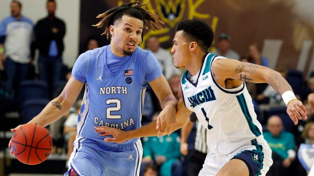 Anthony, Pierce help No. 9 UNC beat UNC Wilmington