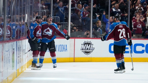 Colorado Avalanche celebrates