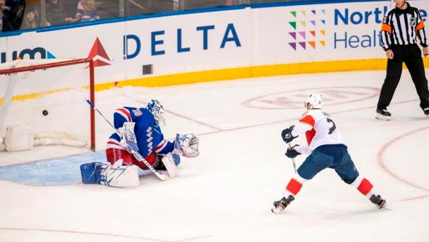 Trocheck helps Panthers outlast Rangers in shootout, 6-5 Article Image 0