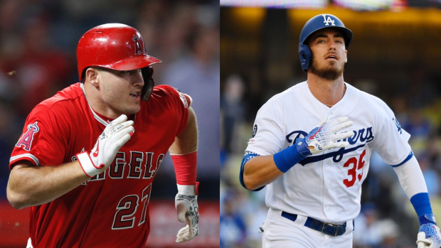 Mike Trout Cody Bellinger