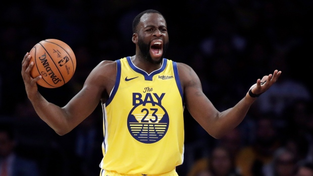 Golden State Warriors Draymond Green Fined For Tampering Tsn Ca