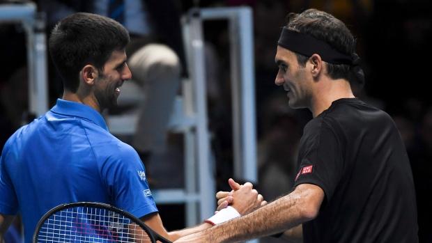 Ap Interview Federer Figures Nadal Djokovic Will Pass Him Tsn Ca