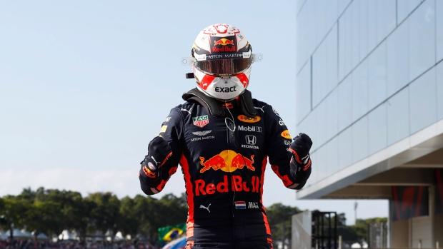 Verstappen earns pole for Brazilian GP - TSN