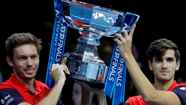 Nicolas Mahut, Pierre-Hugues Herbert win doubles title at ATP Finals Article Image 0