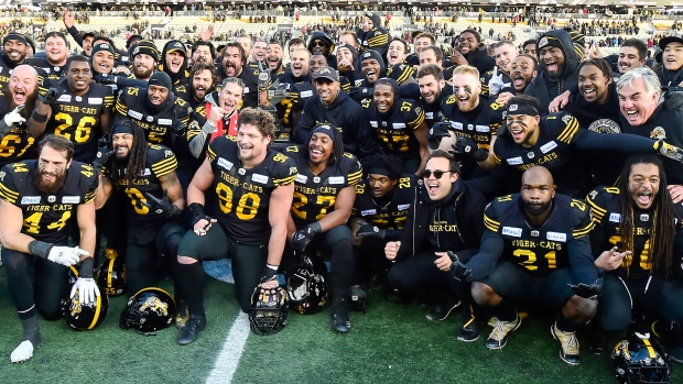 Hamilton Tiger-Cats win Eastern Final