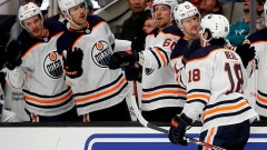 McDavid's 3 points lead Oilers past Sharks 5-2 Article Image 0