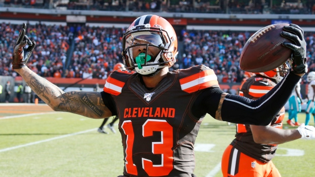 Browns Wont Sit Banged Up Odell Beckham Jr