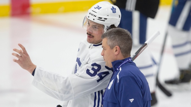 Auston Matthews: 'The puck's just not going in...' - TSN.ca