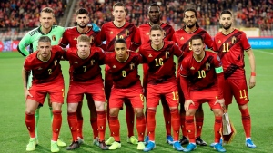 Belgium retains year-end No. 1 spot in FIFA rankings