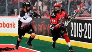Dobbie plays all off-season to prepare for Roughnecks' NLL Cup defence