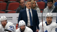 Leafs head coach Sheldon Keefe