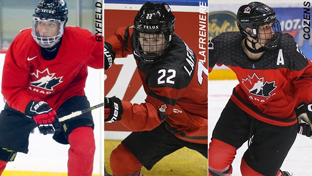 World Junior Selection Camp roster players