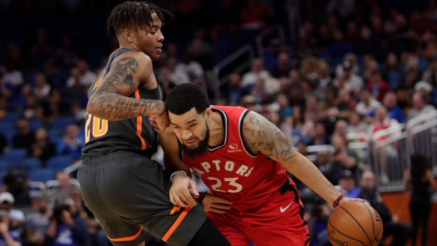 Raptors point guard Fred VanVleet