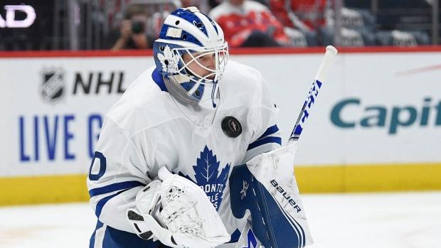 Leafs' backup plan gives Hutchinson Friday debut; hot 'Soupy' goes Saturday