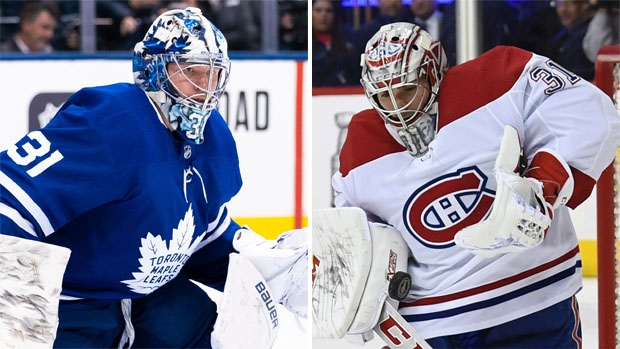 Toronto Maple Leafs, Montreal Canadiens under pressure in the crease - TSN