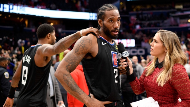 Clippers use 'knee maintenance' to hold Kawhi Leonard out vs. Pacers