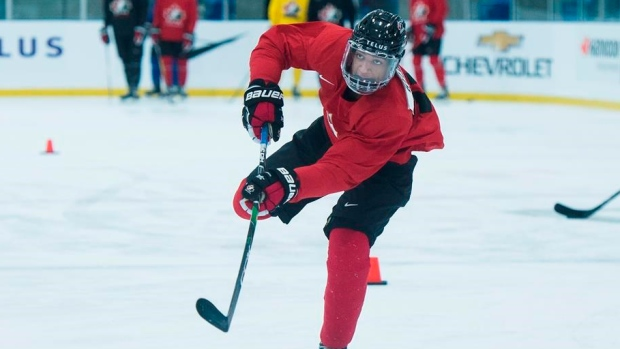 Quinton Byfield looking to leave his mark at Canada's world junior camp - TSN.ca