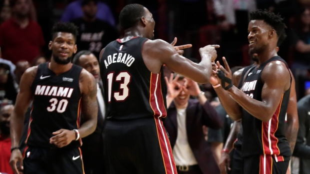 Miami Heat Score 22 Unanswered To Top Atlanta Hawks In Ot Tsn Ca