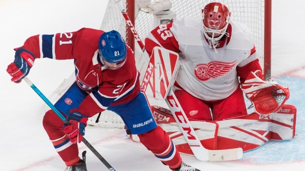 Red Wings, Bernier shut down Canadiens for win