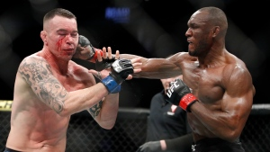 Usman to defend welterweight title against Covington at UFC 268