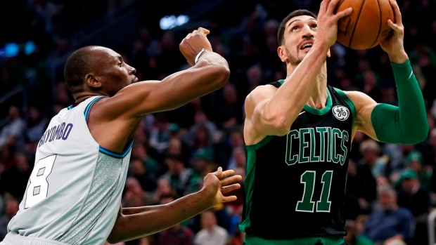 Celtics' Enes Kanter to play in Toronto after issues resolved