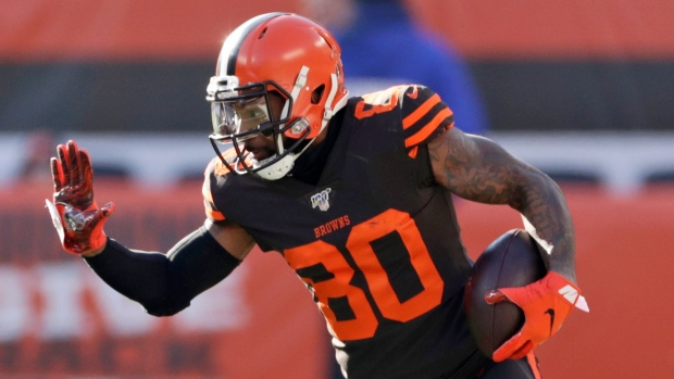 Jarvis Landry: Cleveland Browns wide receiver says he's played through fractured back