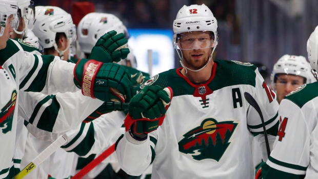 Eric Staal Mats Zuccarello Lead Minnesota Wild Past Detroit Red