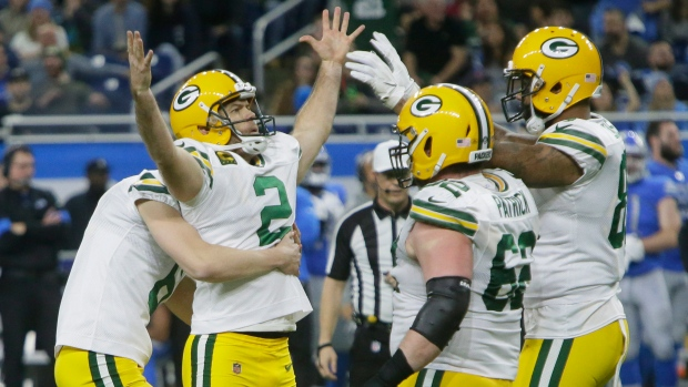 Green Bay Packers Barely Beat Detroit Lions Earn First Round Bye Tsn Ca