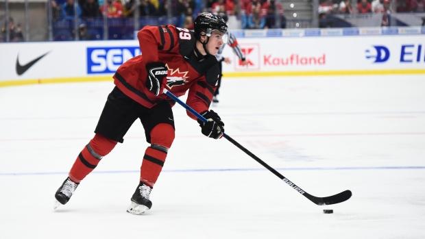 Canada's Nolan Foote draws game misconduct - TSN.ca