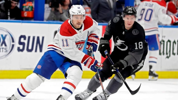 Montreal Canadiens head coach Claude Julien: No definitive diagnosis for Brendan Gallagher - TSN.ca